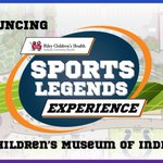 Announcing the @RileyChildrens Sports Legends Experience! Learn all about whats in store: https://t.co/R1OoP1cUYD https://t.co/vMh0V0oLRP