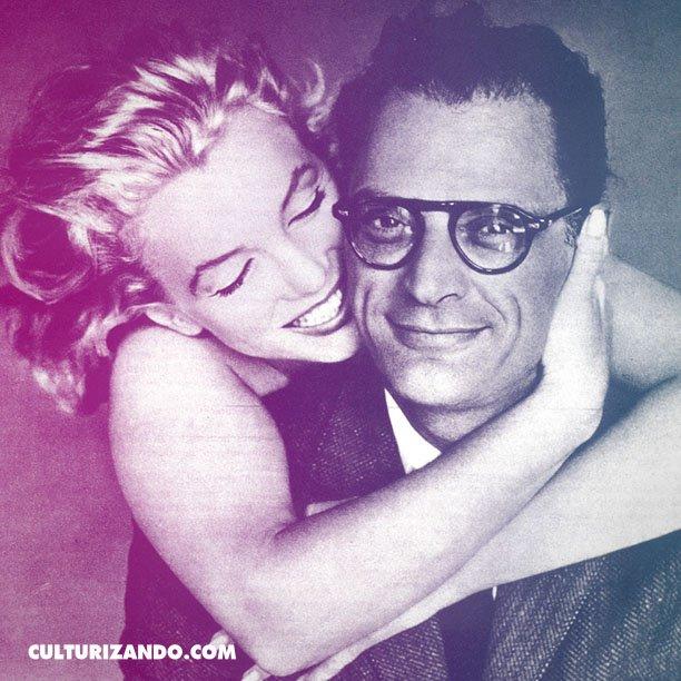 #UnDíaComoHoy 1956: #MarilynMonroe contrae matrimonio con el dramaturgo Arthur Miller. https://t.co/BvGizIvLdL