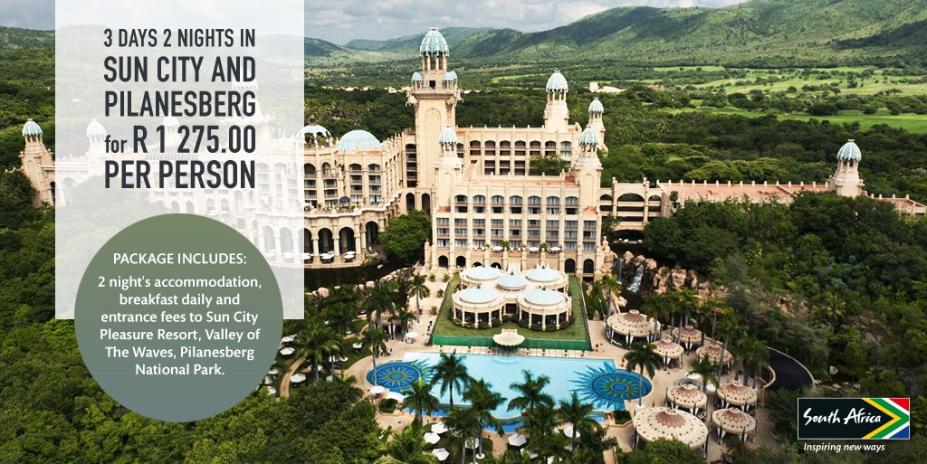The perfect family break is just a #ShotLeft away with this winter getaway deal to Sun City. https://t.co/auxOcfBjLe https://t.co/HjpjZfM8WT