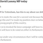 My message to @guardian today: I will never vote for Brexit or Article 50 in Parliament https://t.co/xsyHAG3NFI https://t.co/tYIN13kGvl
