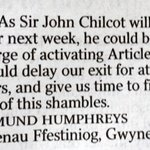 Letter of the day. @thetimes https://t.co/3zIrPXJHml