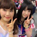 #テレ東音楽祭 さんで、15thシングル『僕はいない』を初披露させて頂きました???? みるきーさんの卒業シングル???? 素敵な楽曲です???? そして写真はSKE48の、えごさん☺️ 可愛くって大好きですなのです????きゅん。 #NMB48 https://t.co/97yUnjDzMz