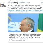 Nao foi só Dilma que sofreu golpe. Brasileiros votaram 4 vezes contra esse plano de governo. Privatização é golpe! https://t.co/EHNzV1Cgou