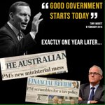 Good government by Liberals? No chance #electionin6words #ausvotes #auspol https://t.co/sfNwLbs6n6