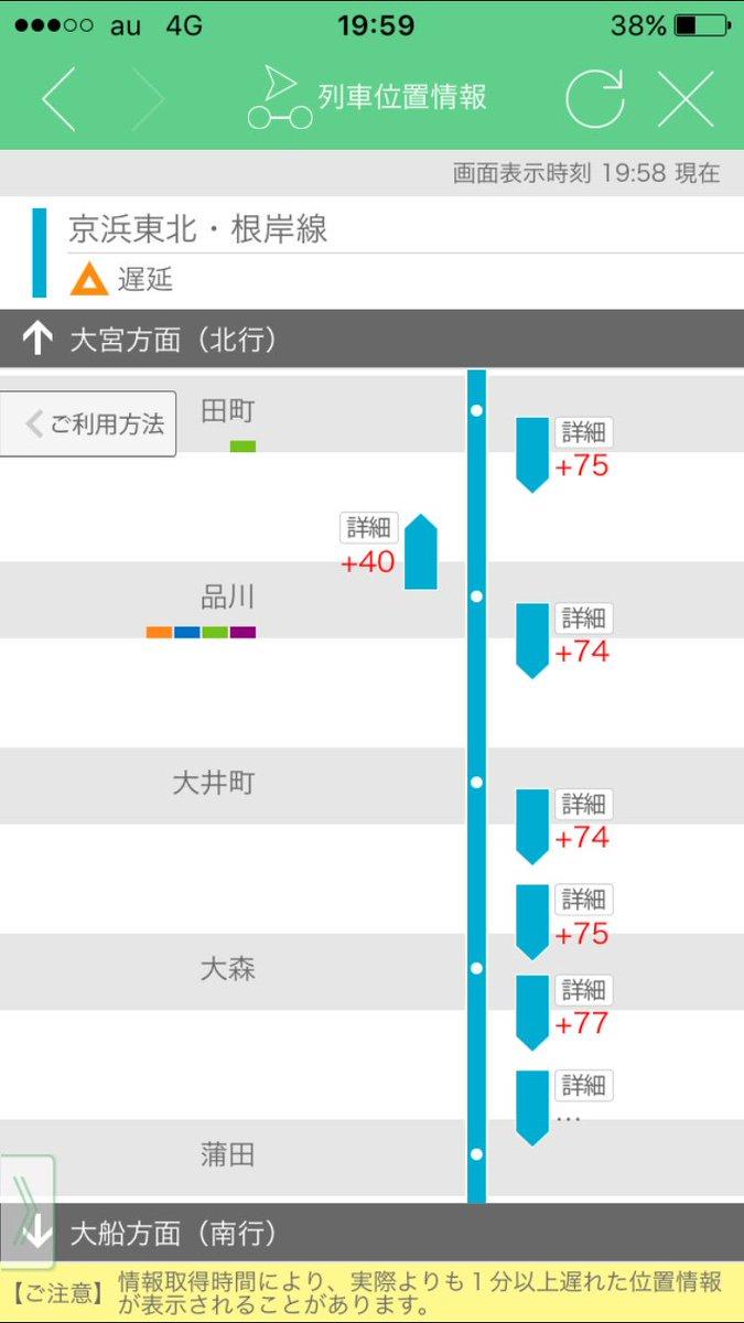 京浜東北線が詰まりすぎて草 https://t.co/o9tetZVVw3
