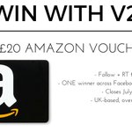 Want to #win a £20 Amazon voucher? Follow + RT to enter! #WinItWednesday https://t.co/8jzNf2nqfv
