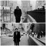 1955 x 2016 Times Square, New York.  James Dean is my spirit guide. https://t.co/jilN2UqVaZ