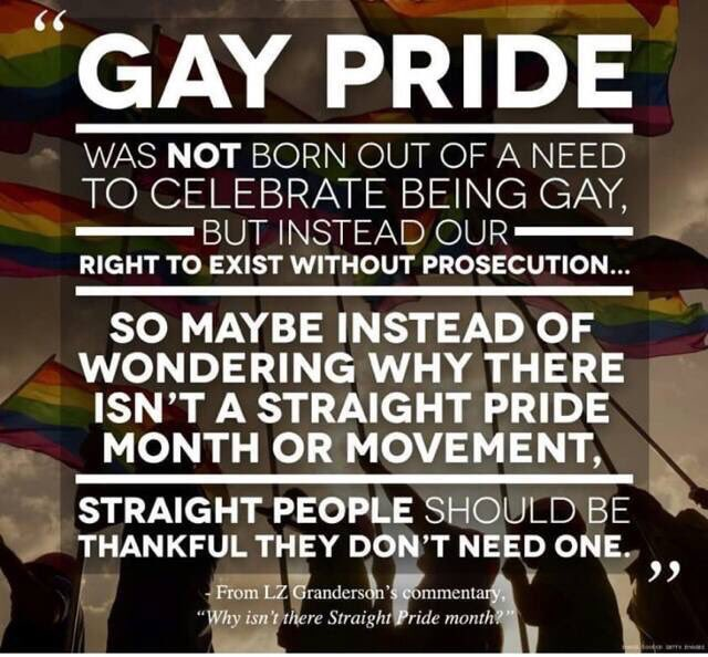 If you genuinely feel you need a #HeterosexualPrideDay, read this: https://t.co/KtZ9Xnlinm