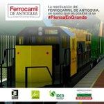 """El #FerrocarrilDeAntioquia es algo que todos los antioqueños quieren"". @Luis_Perez_G @IDEA_Antioquia @Areametropol https://t.co/PEqrSBs4o9"