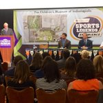 """New plans for @TCMIndy with 7.5 acre $35M sports facilities named """"@RileyChildrens Sports Legends Experience."""" @rtv6 https://t.co/5eBGJEXYBi"""