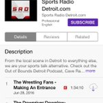 Look us up on @iTunes !???? Sports Radio Detroit #sports #podcast #detroit https://t.co/jmy51t4MTF