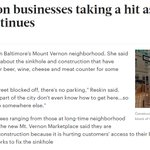 PLEASE PATRONIZE these Mount Vernon businesses taking a hit as work on sinkhole continues https://t.co/Qsyswklt5a https://t.co/09TfzAIcwW