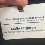 Excited to be at @Moonshot2020 w/ @OncologyNursing and @VP today! Together we #CanServe https://t.co/qBe7AjltIa