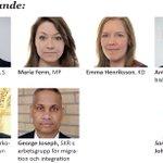 """Högaktuellt seminarium #Almedalen tisd 5/7 """"Vilket värde har en människa på flykt?"""" #migpol https://t.co/T51o3nlkNv https://t.co/Q8px1tS4Sg"""