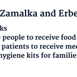 What aid is being distributed today to people in #Zamalka & #Erbeen? #Syria https://t.co/eAqfJ0tPVQ