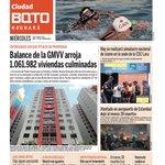 Buenos días! Esta es la portada de la edición Nro 196 del periódico @Ciudad_BQTO https://t.co/46rHpNWPoI