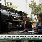 ((AL AIRE)) ¡Vuelve el #FerrocarrilANT! En directo desde la Estación Ferrocarril → https://t.co/bTjy7SAiVM https://t.co/44h3FFhgNw