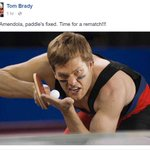 In Tom Bradys latest Facebook post, he wants to challenge @DannyAmendola to a ping pong rematch... https://t.co/mft1YmVe3D