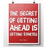 The Secret of getting ahead is getting started. #WednesdayWisdom https://t.co/wlcuzurzC2