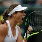 British number one Johanna Konta reached the second round of #Wimbledon for the first time. https://t.co/7iQL3NsfZv https://t.co/1RYgi3wUm8