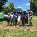 The ground is officially broke! #nflplay60 @colts Fitness Playground coming soon to @IndyParksandRec Riverside Park https://t.co/m9yeyPTGxj