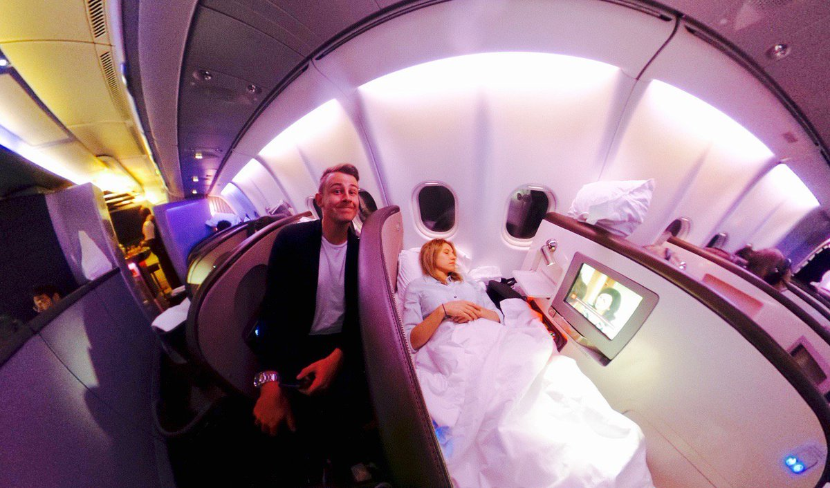 We've come full circle! Check out this cool 360 tour of Upper Class from @godsavethepoint