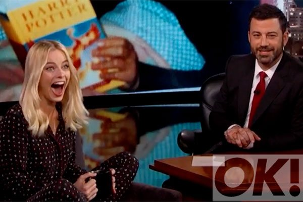 OMG! @MargotRobbie made a surprising Harry Potter confession on @JimmyKimmelLive! Watch: