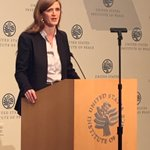 Over 65m refugees globally--over half are kids--most since WW2 - @AmbassadorPower @USIP https://t.co/cA1ym9g0wi