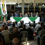 Momento Histórico: Creación Ferrocarril de Antioquia SAS con el Gobernador @Luis_Perez_G Luis Pérez Gutiérrez https://t.co/STrYtuDd4o