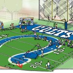 We CAN get luckier! Thanks @Colts for sponsoring the football experience at the @RileyChildrens Sports Experience! https://t.co/6l2OkqFlet
