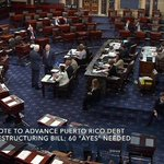 Happening Now: Senate vote to advance Puerto Rico Debt Restructuring bill – LIVE on C-SPAN2 https://t.co/jB0ptcfRkj https://t.co/HJJl4Kx16p