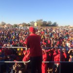 CIC @Julius_S_Malema addressing in #Upington #VoteEFF https://t.co/rbBS94XfhL