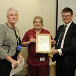 The Exceptional Leader (Clinical) award went to Flora Smith who is 'always cheerful and supportive to her staff' https://t.co/9uPtm5kah4