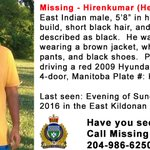 ICYMI: Help find #Missing Person Hirenkumar (Herry) PATEL. Lst seen. June 26/East Kildonan. https://t.co/SdnvrXX9gX https://t.co/M97Q2s8zFl