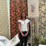 We are in London for @NewDesigners #ND16 and already Emilie Dodds has won a 6 month placement with Romo. @dundeeuni https://t.co/uGPpBYuwp4