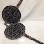 You will flip over our c.1900 waffle iron on #NationalWaffleIronDay #OntheHill. Wheres your fav #Ptbo waffle house? https://t.co/zbaFZs16vc