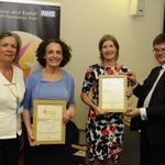 Helena Wilson & Elaine Reynolds won Excellence in Values & Behaviours for their rapid response to a service change https://t.co/HSCFrFcLVx