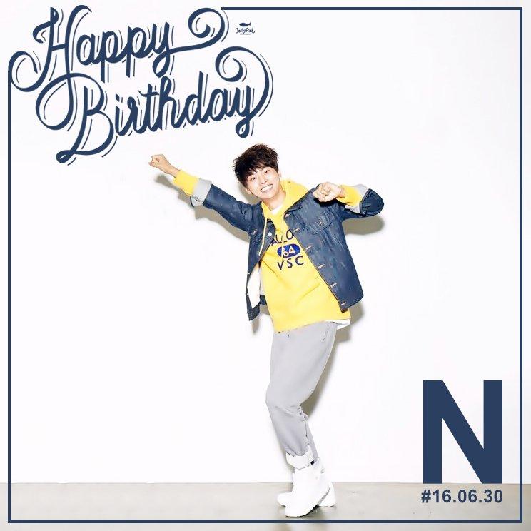 [#엔] 160630 빅스 엔님의 생일을 진심으로 축하합니다! HAPPY BIRTHDAY TO #N #VIXX #HAPPYNDAY https://t.co/qKEWyNL0Er