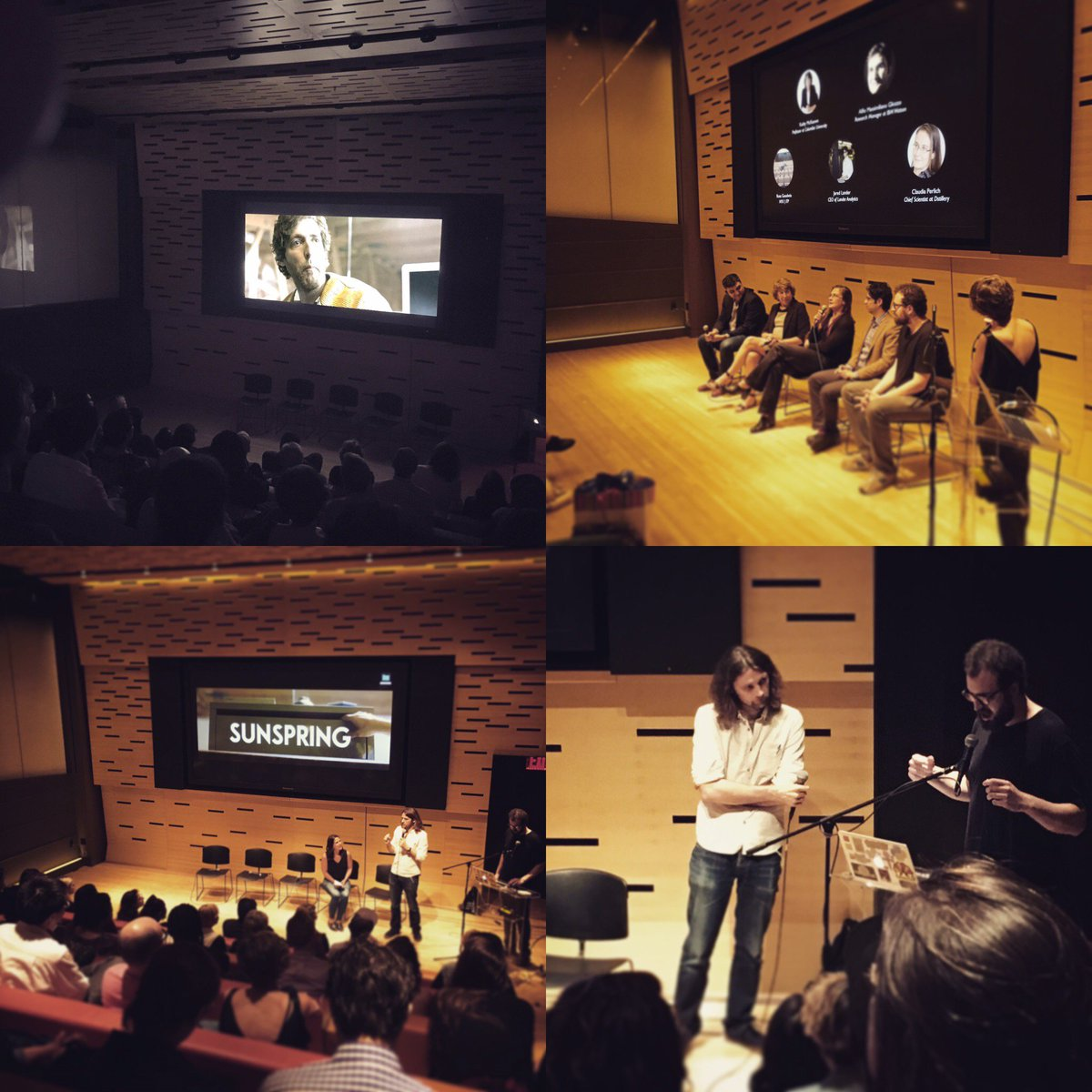 Wonderful evening @FilmLinc discussing the Art of #AI where machine learning & storytelling collide. #sherlock #IoT https://t.co/SjstZGCcwi