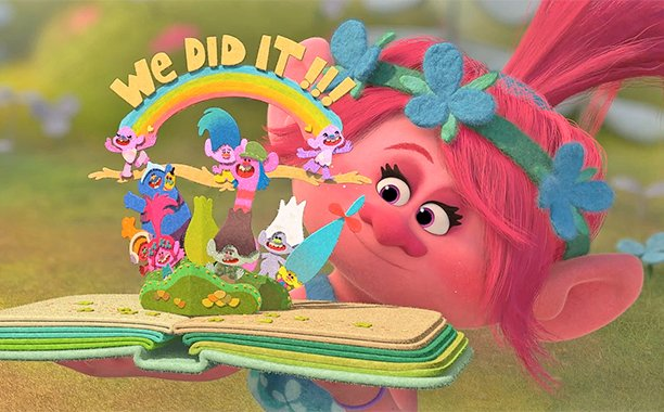 Justin Timberlake and Anna Kendrick get colorful in the first Trolls trailer: 🌈