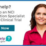 Do you have questions about clinical trials? NCI information specialists #CanServe: https://t.co/UJnUAjRI1h https://t.co/xLLyZGcBxB