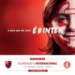 DIA DE INTER!!! Dia do Colorado seguir na parte de cima da tabela. Inter x Flamengo, 19h30, em Cariacica-ES #ÉoInter https://t.co/b17vkfzmhH