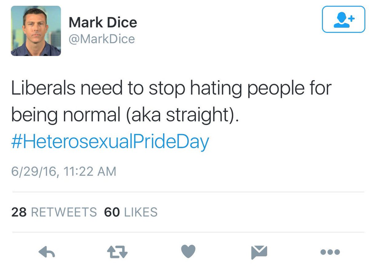 If you don't know why #HeterosexualPrideDay is offensive just understand that it paves way for this kind of thought. https://t.co/n4dGB7lIFn