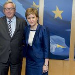 .@JunckerEU received @NicolaSturgeon, First Minister of #Scotland to listen: https://t.co/WnYNVMHS5N https://t.co/MlDA7UfW1R