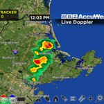 Few downpours popping...no lightning yet. One over Ipswich moving northeast... https://t.co/ywdg7RFHux