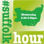 Come and join #suffolkhour  @MooMooCakesSuff @Doolallylass @jillstreatfeild @NewWolsey @stedscath @SuffSoulSingers https://t.co/fiOEhzzUlH
