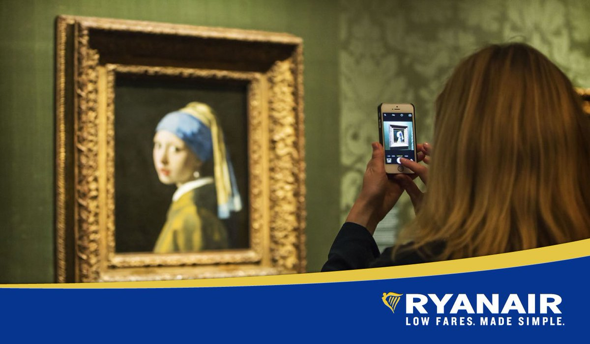 From old masters to musical maestros. Book a flight to Holland today!