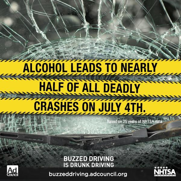 You're not just buzzed- you're impaired. Plan now for a sober ride this holiday weekend. #BuzzedDriving https://t.co/UJUdXJFEYR