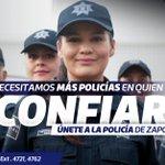 Necesitamos más policías en quiénes confiar y juntos construir el Zapopan que queremos. Únete a nuestro equipo. https://t.co/hsJyJN63MR