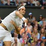 Roger Federer takes the first set 6-0 against Marcus Willis. Live: https://t.co/RFLKxTLkut #Wimbledon https://t.co/19HWtlSQtw